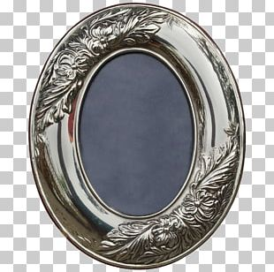 Oval M Silver Tableware PNG
