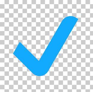 Check Mark Emoji Cut PNG