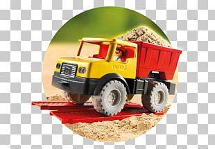 Playmobil Dump Truck Dumper Sand PNG