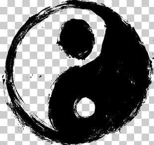 Yin And Yang Black And White PNG