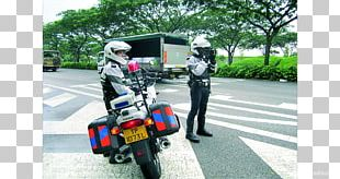 Singapore Scooter Police Officer Traffic Police PNG