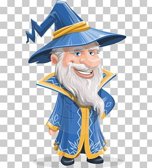 Animated Cartoon Magician Animation Character PNG