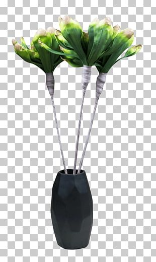 Cut Flowers Vase Artificial Flower Plant Stem PNG
