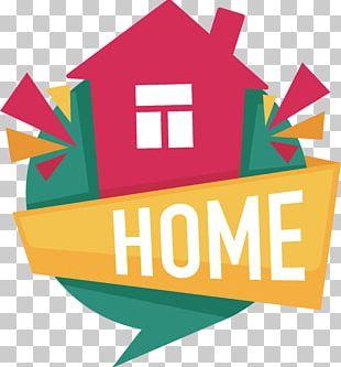 House Cartoon Logo PNG