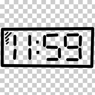 Digital Clock Computer Icons Alarm Clocks PNG