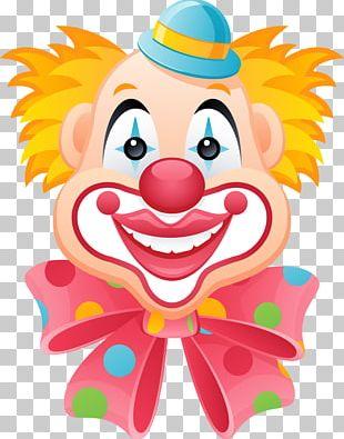 Joker Clown Circus PNG