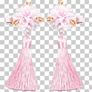 Gown Cut Flowers Petal Pink M PNG