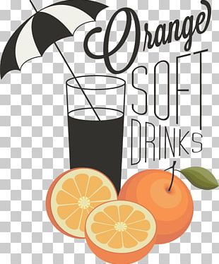 Orange Juice Fizzy Drinks Cocktail Cafe PNG