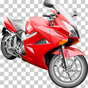 Motorcycle Car Bicycle PNG