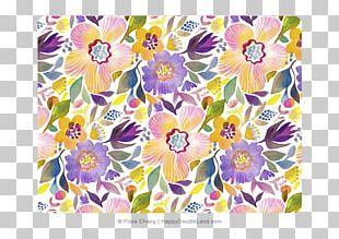 Floral Design Textile Cut Flowers Wrap PNG