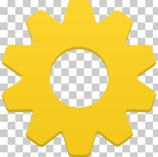 Angle Symbol Yellow PNG