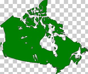 Canada United States Map PNG
