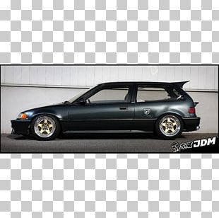 Bumper Honda CR-X Fourth Generation Honda Civic Compact Car PNG