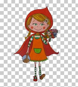 Christmas Elf Little Red Riding Hood Christmas Tree Adolescence Christmas Ornament PNG