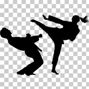Karate Martial Arts Sport Taekwondo Silhouette PNG