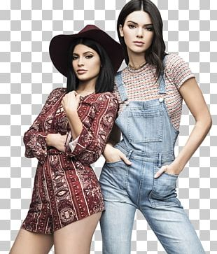 Kendall Jenner Kylie Jenner Kendall And Kylie Keeping Up With The Kardashians Photo Shoot PNG