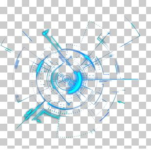 Light Circle Geometry PNG