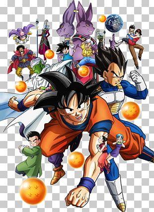 Dragon Ball Heroes Goku Beerus Majin Buu Videl PNG