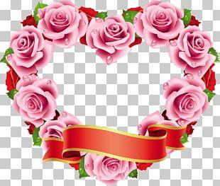 Rose Flower Heart Wedding PNG
