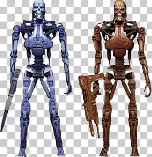 RoboCop Versus The Terminator Endoskeleton Action & Toy Figures National Entertainment Collectibles Association PNG
