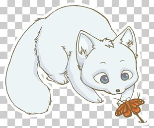 Arctic Fox Drawing Snowy Owl PNG