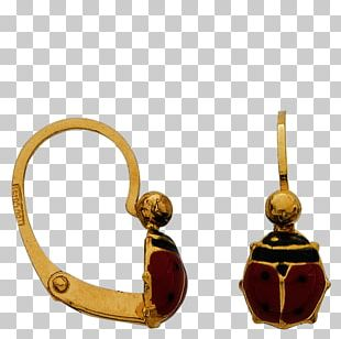 Earring Gold Dormeuse Body Jewellery PNG