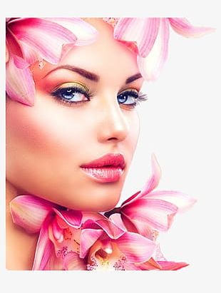 Makeup Beauty Flowers PNG