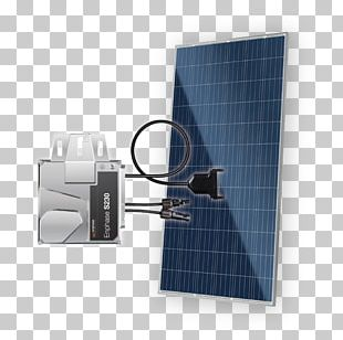 Solar Micro-inverter MC4 Connector Enphase Energy Solar Panels Photovoltaic System PNG