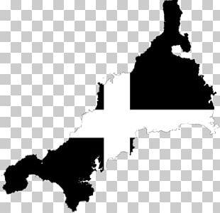 Cornwall Map British Isles Wales Geography PNG