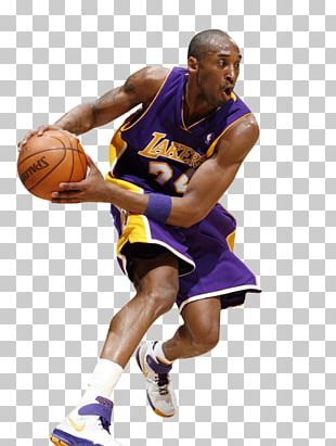 Kobe Bryant Los Angeles Lakers Basketball Slam Dunk PNG