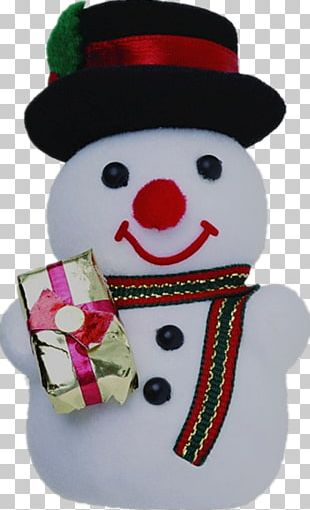 Christmas Decoration Snowman PNG