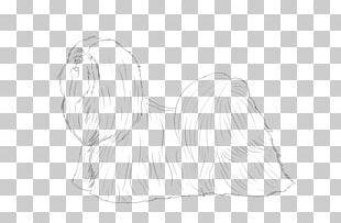 Dog Paw Drawing Sketch PNG