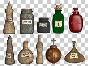 Potion Drawing Bottle PNG