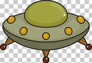 Unidentified Flying Object Flying Saucer Cartoon PNG
