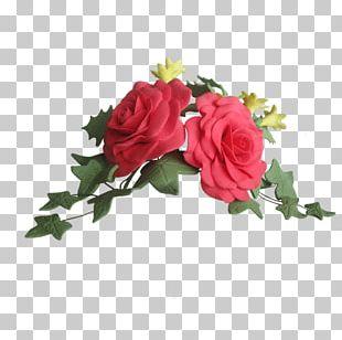 Garden Roses Cabbage Rose Sugar Paste Floral Design Cut Flowers PNG