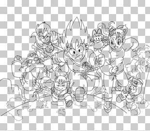 Line Art White Cartoon Point Sketch PNG
