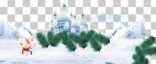Winter Poster Graphic Design PNG