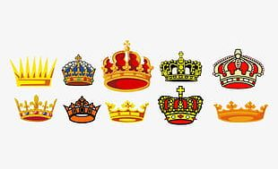 Crown Material Collection PNG