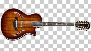 Twelve-string Guitar Taylor Guitars Cutaway Acoustic-electric Guitar PNG