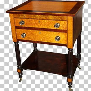 Bedside Tables Drawer Buffets & Sideboards Antique PNG