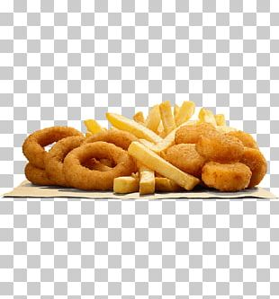 Whopper Onion Ring French Fries Chicken Nugget Hamburger PNG