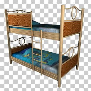 Bed Frame Table Bunk Bed Bedroom PNG