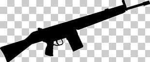Machine Gun Firearm Weapon Rifle PNG