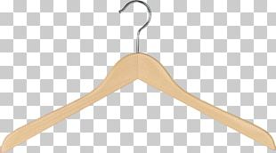 Wood Clothing Metal Clothes Hanger PNG