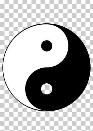 Yin And Yang Graphics Illustration Symbol PNG