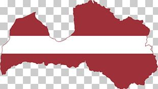 Flag Of Latvia Map Globe PNG