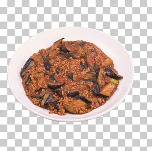 Romeritos Chili Con Carne Fried Eggplant With Chinese Chili Sauce PNG