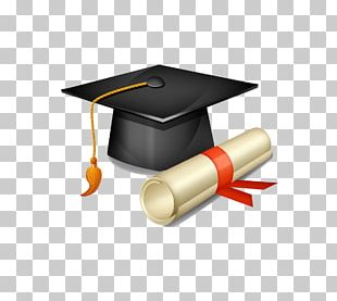Square Academic Cap Graduation Ceremony Hat PNG