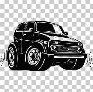 Car Lada Niva UAZ Graphics PNG