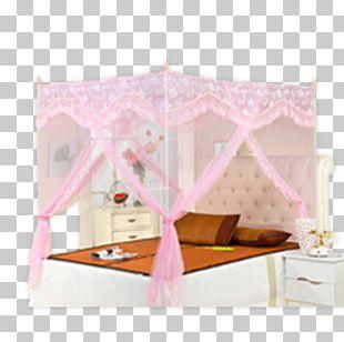Bed Frame Pink PNG